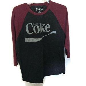 Tops - Coke baseball tee